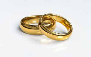 Eheringe aus Gold